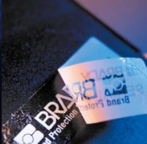Этикетки для защиты от подделки BRADY