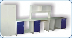 Мебель для хроматографической лаборатории