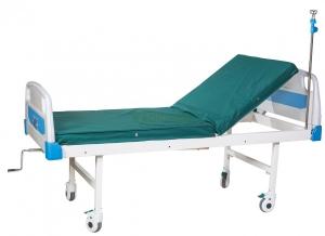Кровать медицинская (2-секционная, механическая) БИОМЕД А26