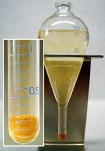 Нефтеотстойник по ASTM (грушевидной формы) 100 мл