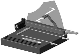 Нож НБК-Т для нарезания образцов бумаги и картона