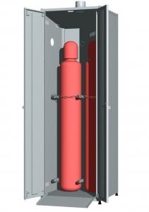 Шкаф для промышленных баллонов UOSLab ШЛБ-1.022.02