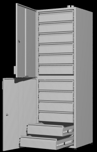 Шкаф для реактивов UOSLab ШЛР-1.042.02