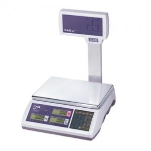 Ваги торгові CAS ER EU Plus (RS-232) 15 кг з вбудованим акумулятором