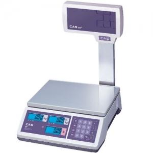 Ваги торгові зі стійкою і акумулятором CAS ER JR CBU (RS-232) 30 кг