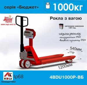 Вeсы-роклa 4BDU1000Р-В-Б Бюджет AXIS