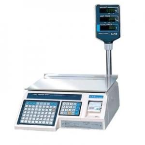 Весы электронные CAS с термопечатью  LP-R-15 (в. 1.6) Ethernet со стойкой 15 кг