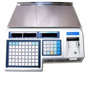 Весы электронные CAS с термопечатью LP (в. 1.6) Ethernet  без стойки 30 кг