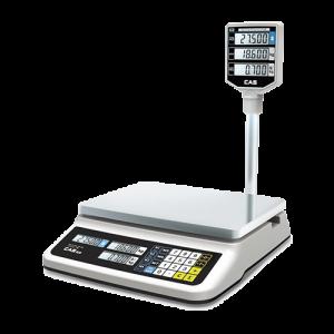 Ваги електронні настільні торгові CAS PR -15P (LCD, II)