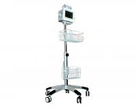 Стойка мобильная с корзиной для монитора пациента UTAS