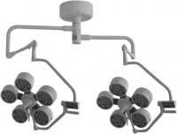 Бестеневая операционная лампа ОБЕРЕГ LED-5+5