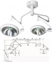 Однорефлекторная бестеневая операционная лампа Оберег 700/500