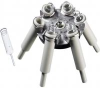 Ротор для хромированных вставок 30 мл Hettich 4619 (6 мест, угол 90)