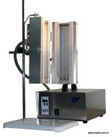Трубчатая раздельная печь на штативе Czylok RSD 50x300