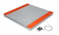 Ваги електронні низькопрофільні звичайного виконання Техноваги ТВ4-1000-0,2-(1250х1250)-12