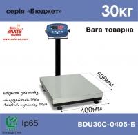 Весы товарные AXIS BDU30C-0405-Б Бюджет