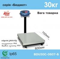 Весы товарные AXIS BDU30C-0607-Б Бюджет