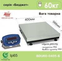 Весы товарные AXIS BDU60-0405-Б Бюджет