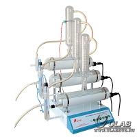 Тридистиллятор стеклянный Ulab UD-3015