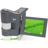 """Цифровой USB микроскоп Celestron FlipView 10-300x 5.0Mpx 3""""TFT LCD"""