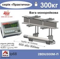 Ваги монорейкові AXIS 2BDU300М Практичний