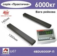 Рейкові ваги AXIS 4BDU6000P-П Практичний