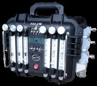 ASA-6S (1-1-2-2-5-10) 6-ти канальний електроаспіратор для стаціонарних постів