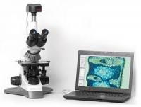 Бинокулярный биологический микроскоп Micros МC 100X Crocus (с интегрированной видеокамерой)