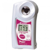 Цифровой ручной рефрактометр PAL-44S (хлорид лития)