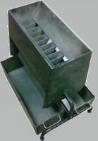 Делитель рифленый  ДРД 30х16х7 (Джонсона) для деления сыпучих материалов