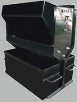 Делитель Джонсона рифленый  ДРД 15х20х2 для деления сыпучих материалов