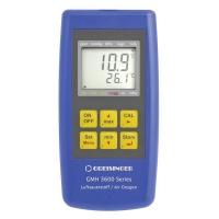Greisinger GMH 3692 аналізатор кисню в газових сумішах з функцією вимірювання тиску і температури