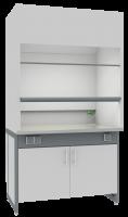 Шкаф вытяжной UOSLab ШВЛ-02 (классический) 900x750x2200мм