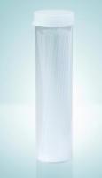 Капилляры для определения температуры плавления, Закрыт один конец, Длина 80 мм, внеш.Ø 1,40 мм, внутр. Ø 1,00 мм, Натриевое стекло MARIENFELD