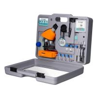 Микроскоп Bresser Junior 40x-640x Orange с кейсом