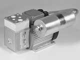 Насос-компрессор N 86 AN.12 DCB мембранный, вакуумный KNF для откачки токсичных смесей