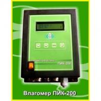 Система контроля влажности пиломатериалов ПИК-200
