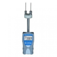 Портативный влагомер humimeter SLW для определения содержания влаги текстильных изделий и пряжи