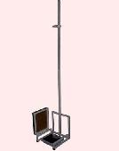 Ростомір підлоговий з механічними вагами РПВ-2000