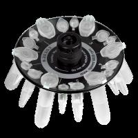 Ротор для пробирок R-2/0.5/0.2 Biosan 6 х 2/1.5 мл, 6 х 0.5 мл, 6 х 0.2 мл