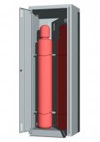 Шкаф для промышленных баллонов UOSLab ШЛБ-0.022.02