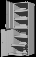 Шкаф для реактивов UOSLab ШЛР-1.022.02