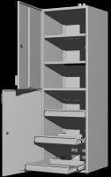 Шкаф для реактивов UOSLab ШЛР-1.032.02