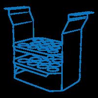 Штатив TR-44/11 Biosan для мікропробірок