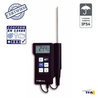 Термометр портативный электронный DOSTMANN P300 с датчиком NTC