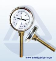 Термометры биметаллические ТБ-100 стандарт, L160 (0…+600)