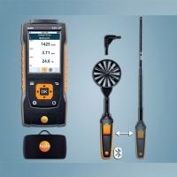 TESTO 440 dP комби комплект 1 для беспроводного измерения термоанемометром и дифдавления до 150 мбар