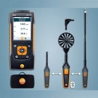 TESTO 440 dP комби комплект 2 для измерения скорости, влажности, температуры воздуха, дифдавления