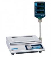 Торговые весы с дисплеем на стойке CAS AP-M LT (15 кг)