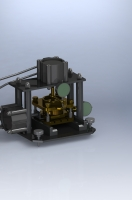 Установка ПСФ-40 для определения прочности и деформируемости грунтов
